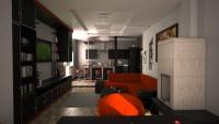 Дизайн-проект кухни в квартире-студии