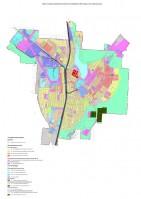 Карта (схема) градостроительного зонирования муниципального образования «Город Гусь-Хрустальный» Владимирской области