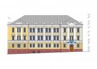 Проект реставрации здания главного почтамта на улице Подбельского города Владимир